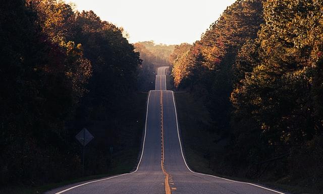 Strada ondulata